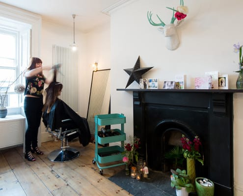 MavenStudio hairstylists in Temple Bar Dublin city