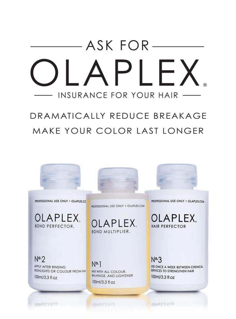 Hair treatments using Olaplex in Dublin