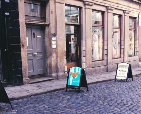 Find MavenStudio behind the grey door at 9 Eustace Street, Temple Bar, Dublin
